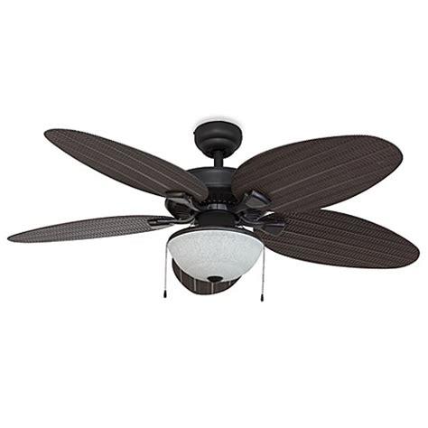 52 inch outdoor ceiling fan 52 inch hawks cay outdoor bronze ceiling fan with light