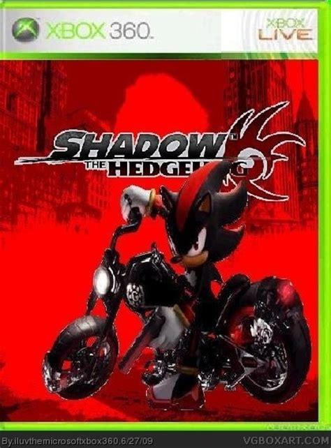 shadow  hedgehog xbox  box art cover