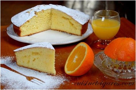 g 226 teau 224 l orange dessert