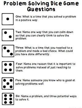 social problem solving games  decision making lessons