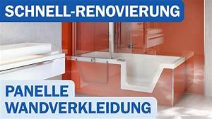 Alternative Zu Rigips : panelle von duscholux als alternative zu neuen fliesen shk tv reportage youtube ~ Frokenaadalensverden.com Haus und Dekorationen