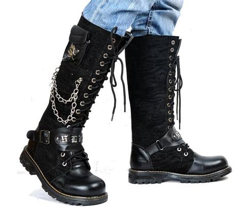 Mens Knee High Boots Boot