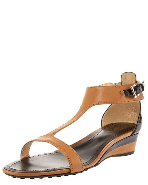 lyst tods  strap  wedge sandal  brown