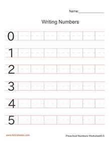 Spreadsheet Numbers Handwriting Numbers Worksheet Writing