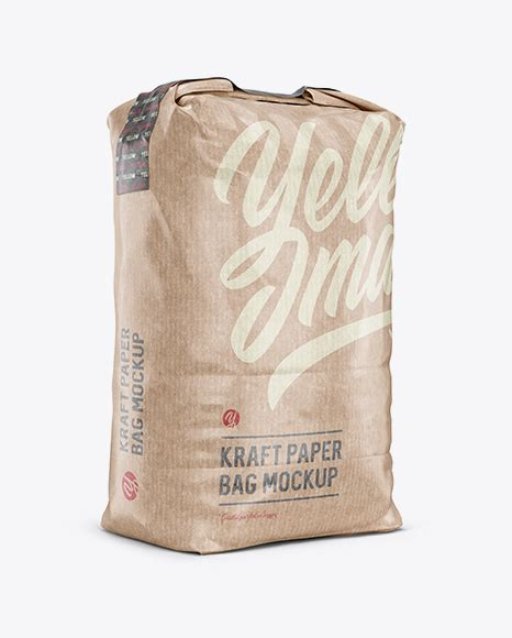 Free psd mockup, photoshop templates, psd gui, psd icons, free web graphics, text effects for your web and graphic, new collection of psd graphics for designer include vector graphics, website templates, flat icons, free psd files and ui design elements. 3 kg Kraft Paper Bag Mockup - Front View - Kraft Paper ...