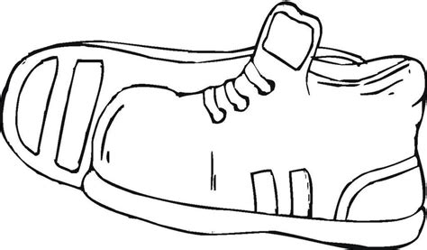 coloring pages shoes coloring home