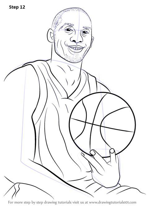 learn   draw kobe bryant basketball players step