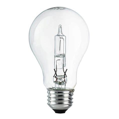 ecosmart light bulbs ecosmart 60w equivalent eco incandescent a19 clear