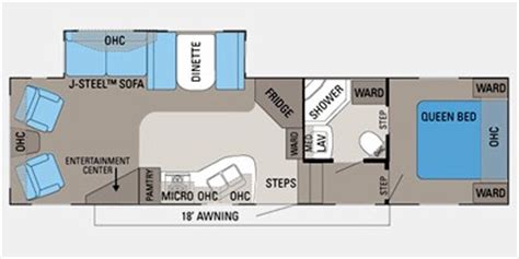 2012 Jayco 5th Wheel Floor Plans by 2012 Jayco Eagle Lite Fifth Wheel Series M 30 5 Rls