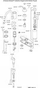 kitchen faucet diagram plumbingwarehouse price pfister repair parts for