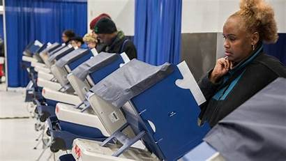 Election Primary Illinois Open Tuesday Polls Busy