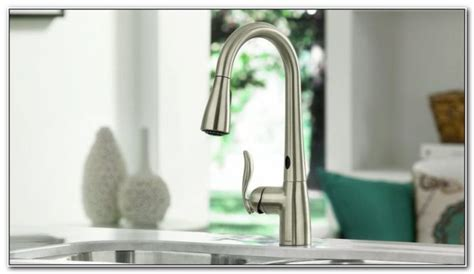 touch free kitchen faucet best touch free kitchen faucet sinks and faucets home