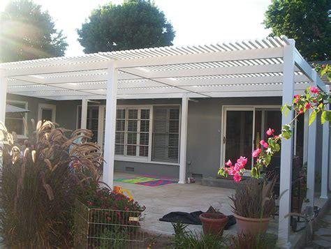 vinyl patio covers vinyl fence depot california los