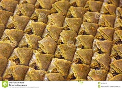 cuisine turc traditionnel dessert turc traditionnel de baklava photo libre de droits