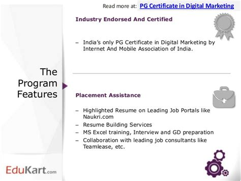 graduate diploma in digital marketing edukart post graduate certificate in digital marketing