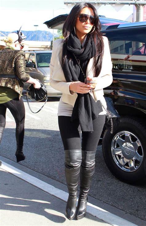 Outfits de Kim Kardashian que tu00fa misma puedes recrear