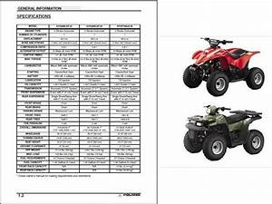2001 Polaris Scrambler 90 Parts Manual