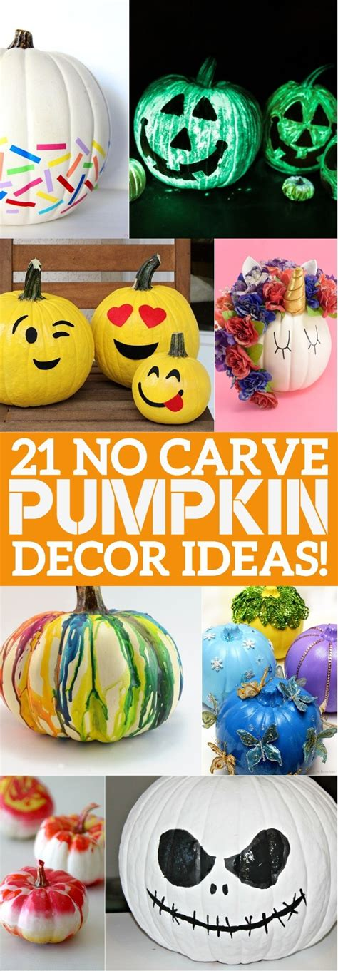 carve pumpkin decorating ideas  youll love