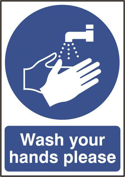 signs labels xmm wash  hands  rigid