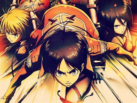 snkattack  titan anime loverz wallpaper