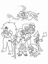Steven Universe Coloring Pages Printable Characters Cartoon Sheets Colouring Adult Gems Crystal Steve Peridot Garnet Pearl Lapis Ruby Books Amethyst sketch template
