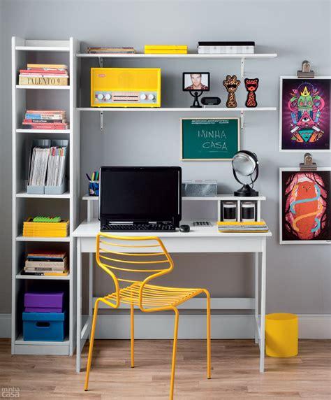 quatro estilos diferentes de um mesmo home office blog