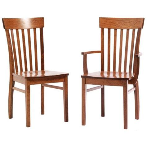 transitional amish dining room chairs solid wood dining