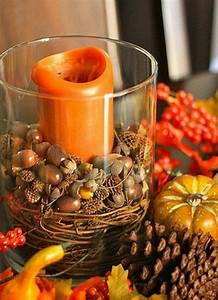 Simple, And, Easy, Thanksgiving, Centerpiece, Ideas, Using, Candles, Guide, To