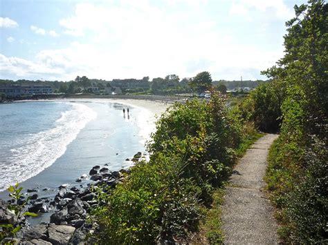 york harbor cliff path reaches  heights  coastal