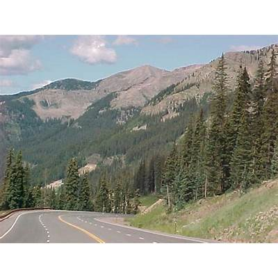 Wolf Creek Pass In Colorado