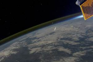Looking Down on a Shooting Star : Image of the Day