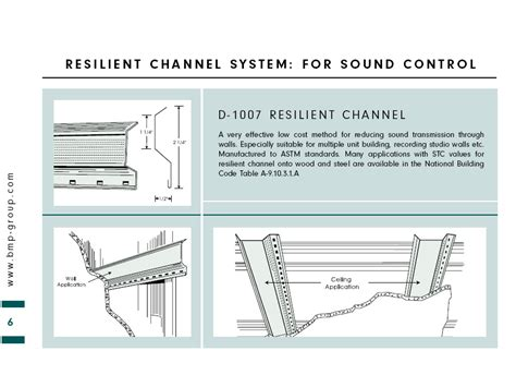 resilient channel ceiling assembly mod11 sound