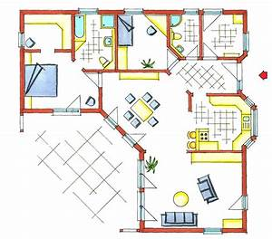 Fertighaus Bungalow 120 Qm : grundrisse 120 m2 bungalow die neuesten innenarchitekturideen ~ Markanthonyermac.com Haus und Dekorationen