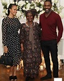 Sabrina dhowre, idris elba, and the actor's mom, eve elba ...
