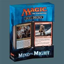 magic the gathering decks magic the gathering mind vs might duel deck