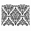 """Venetian Damask 24x19"""" - The Painted Vieux"""