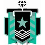 Siege Rainbow Six Diamond Rank Transparent Member