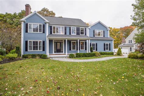 impressive colonial  sought  neighborhood massachusetts luxury homes mansions