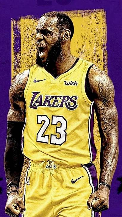 Lebron Lakers James Wallpapers Iphone Android Desktop