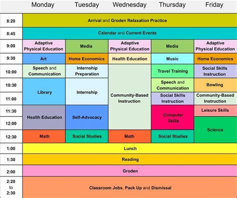 Time Management Schedule Template For High School Students by Weekly Schedule Of A Student Ahrc High School Ahrc New