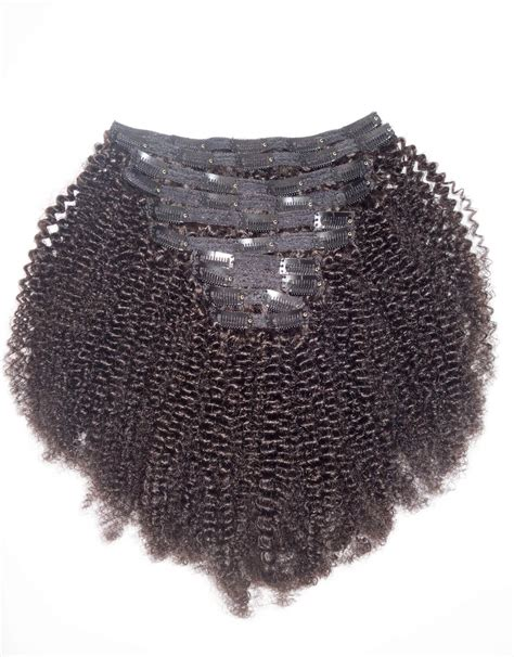 afro kinky curly clip  hair extensions betterlengthcom