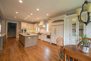Transitional, Kitchen, With, 2, Islands