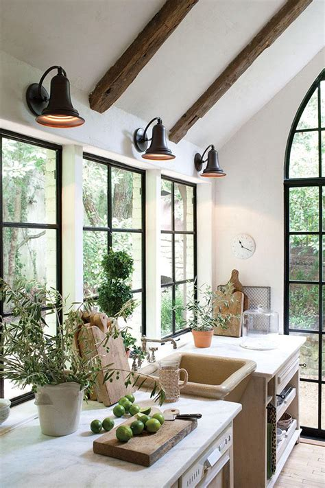 Decorating Ideas For Kitchen Counters - my kitchen remodel windows flush with counter the inspired room