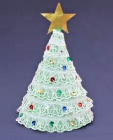 funezcrafts easy christmas crafts construction paper christmas tree