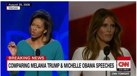 Melania Trump: Speech Sound Familiar? Michelle Obama Said it 8 Years Ago | TMZ.com