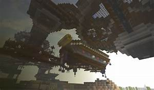 Steampunk floating city {New Aerios} Minecraft Project