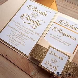 diy rose gold glitter wedding invitations gold 2570387 With rose gold themed wedding invitations