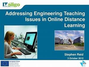 Addressing Engineering Teaching Issues in Online Distance ...