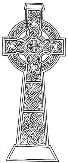ausmalbild keltisches kreuz kategorien keltische kunst