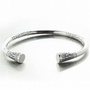 Bracelet En Argent Homme : bracelet esclave ou jonc saccalava en argent ~ Carolinahurricanesstore.com Idées de Décoration
